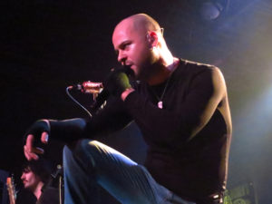 J. Loren Wince from Hurt Live in Concert