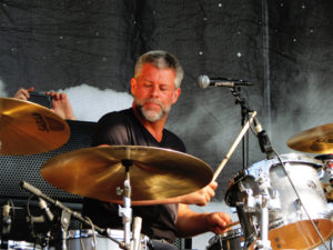 Drummer Barrett Martin from Walking Papers live at Uproar Festival