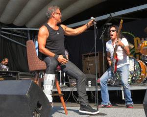 Glenn Hughes from The Dead Daisies at Uproar Festival