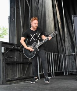 Bless The Fall at the Vans Warped Tour