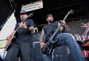 Hatebreed at Warped Tour