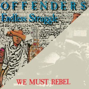 We Must Rebel album cover by Offender