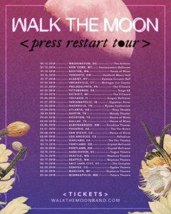 Walk The Moon 2018 Tour Schedule