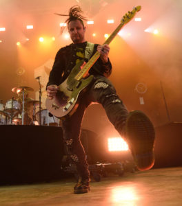 Eric Bass from Shinedown