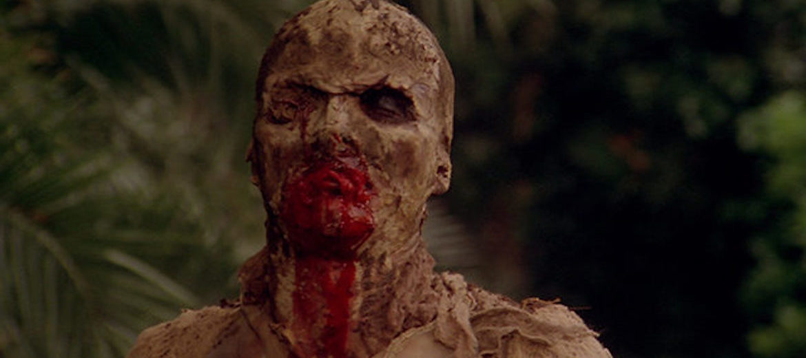 Monster from the film Zombie