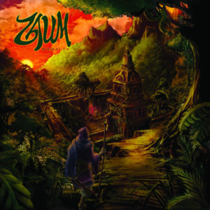 Divination album cover by Zaum