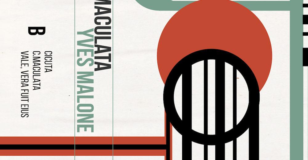 Cicuta Maculata Album Cover by Yves Malone