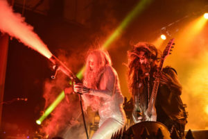 Maria Brink and Randy Weitzel of In This Moment