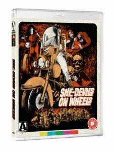 She-Devils on Wheels Arrow Video Artwork