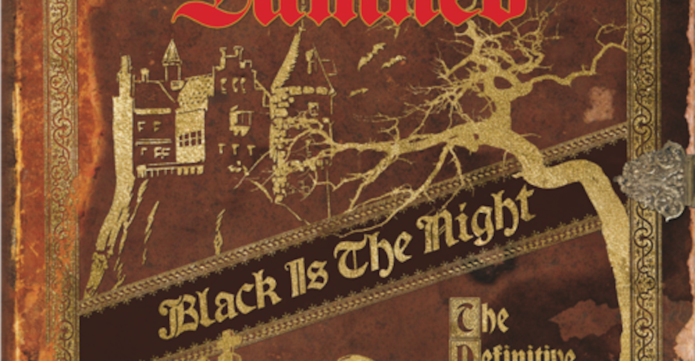 Black is the Night Album Cover from The Damned