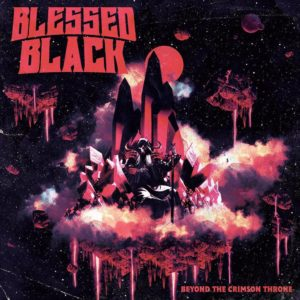 Beyond the Crimson Throne Album Cover by Blessed Black