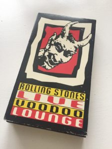 Rolling Stones Live Voodoo Lounge VHS Tape