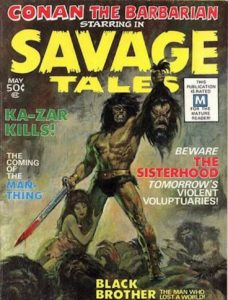 Savage Tales featuring the Man Thing