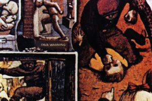 Fair Warning Album Cover