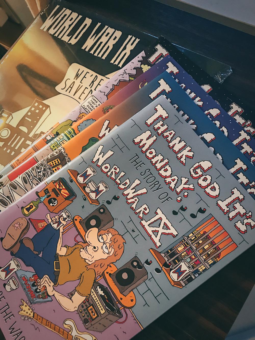 World War IX, Selective Memory, comic books, punk, vinyl