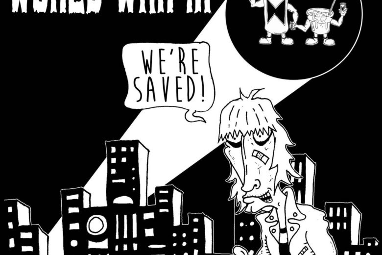 We're Saved Album Cover