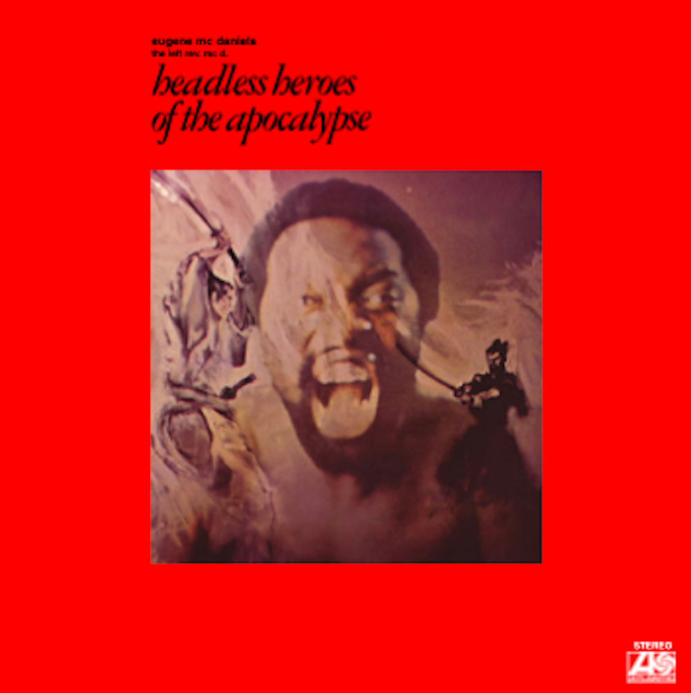 Headless Heroes of the Apocalypse album cover by Eugene McDaniels