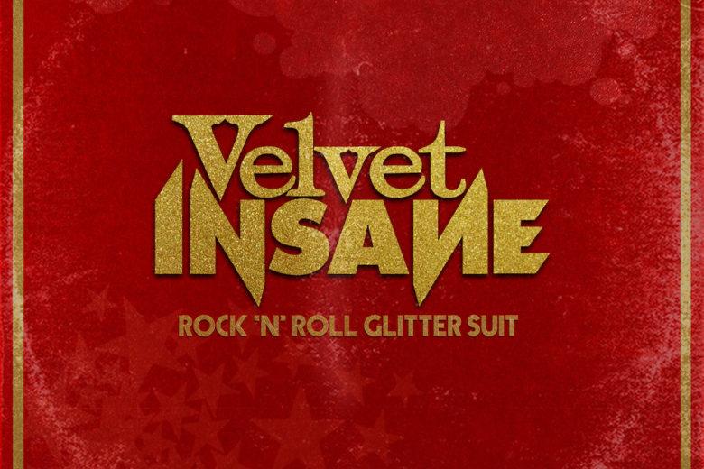 Rock 'n' Roll Glitter Suit Album Cover by Velvet Insane