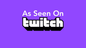 As Seen On Twitch Logo