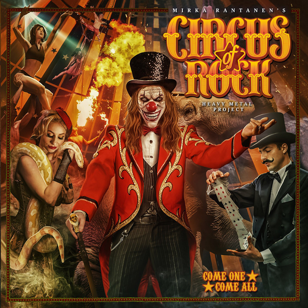 Come One Come All Album Cover by Circus of Rock