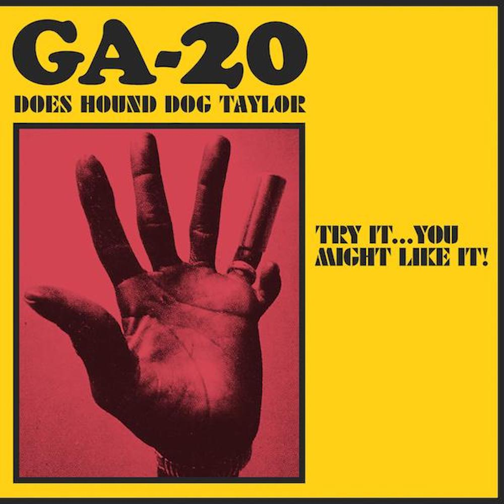 GA-20 Does Hound Dog Taylor Album Cover
