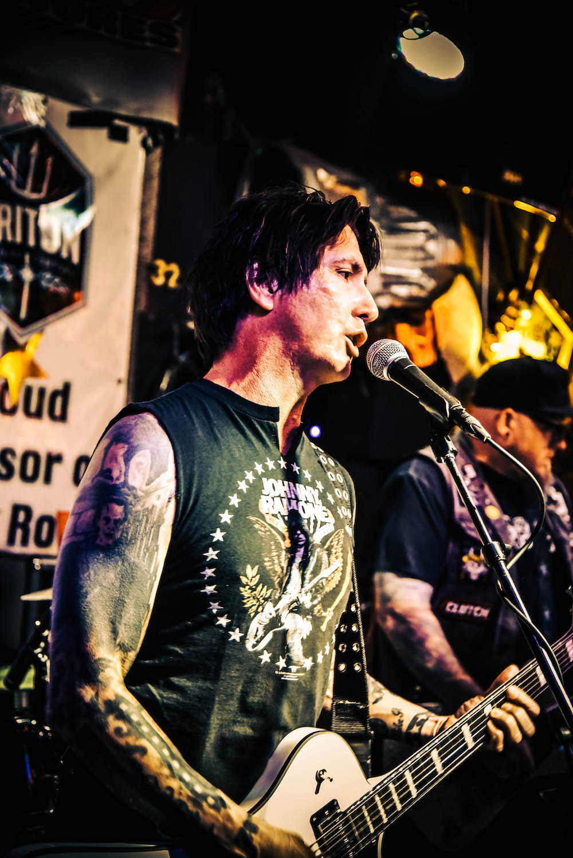 Guitarists Wayne Griffith and Steve Boyles.